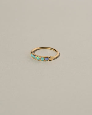 Enhanced Opal Dome Ring Right Side