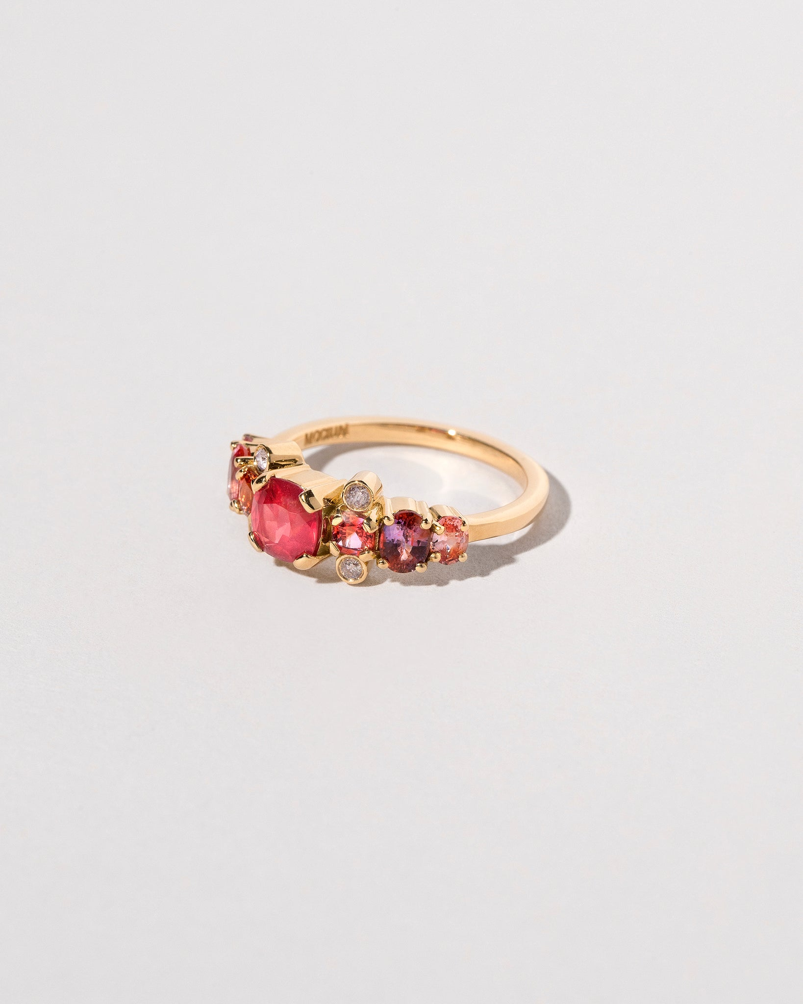 Gladiola Ring - Final Sale on light color background