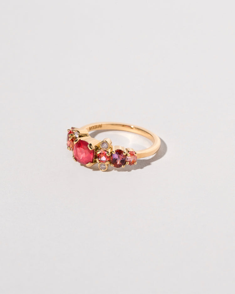 Side view of the Gladiola Ring