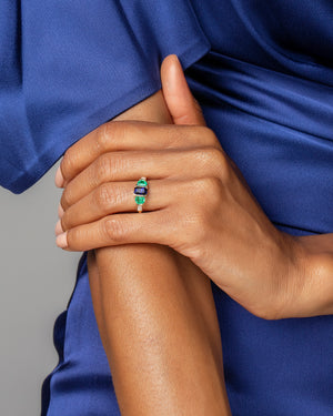 Heart Centering Ring on Model