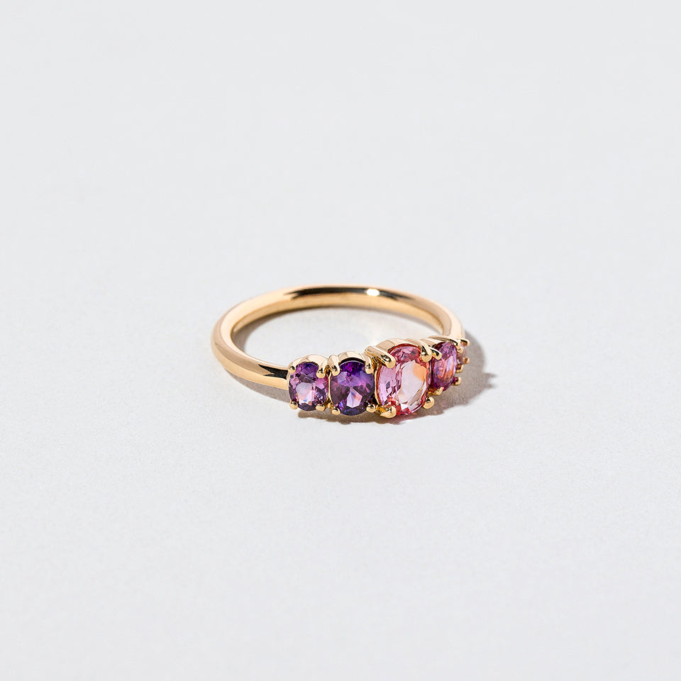 product_details::Heathery Burn Ring side view