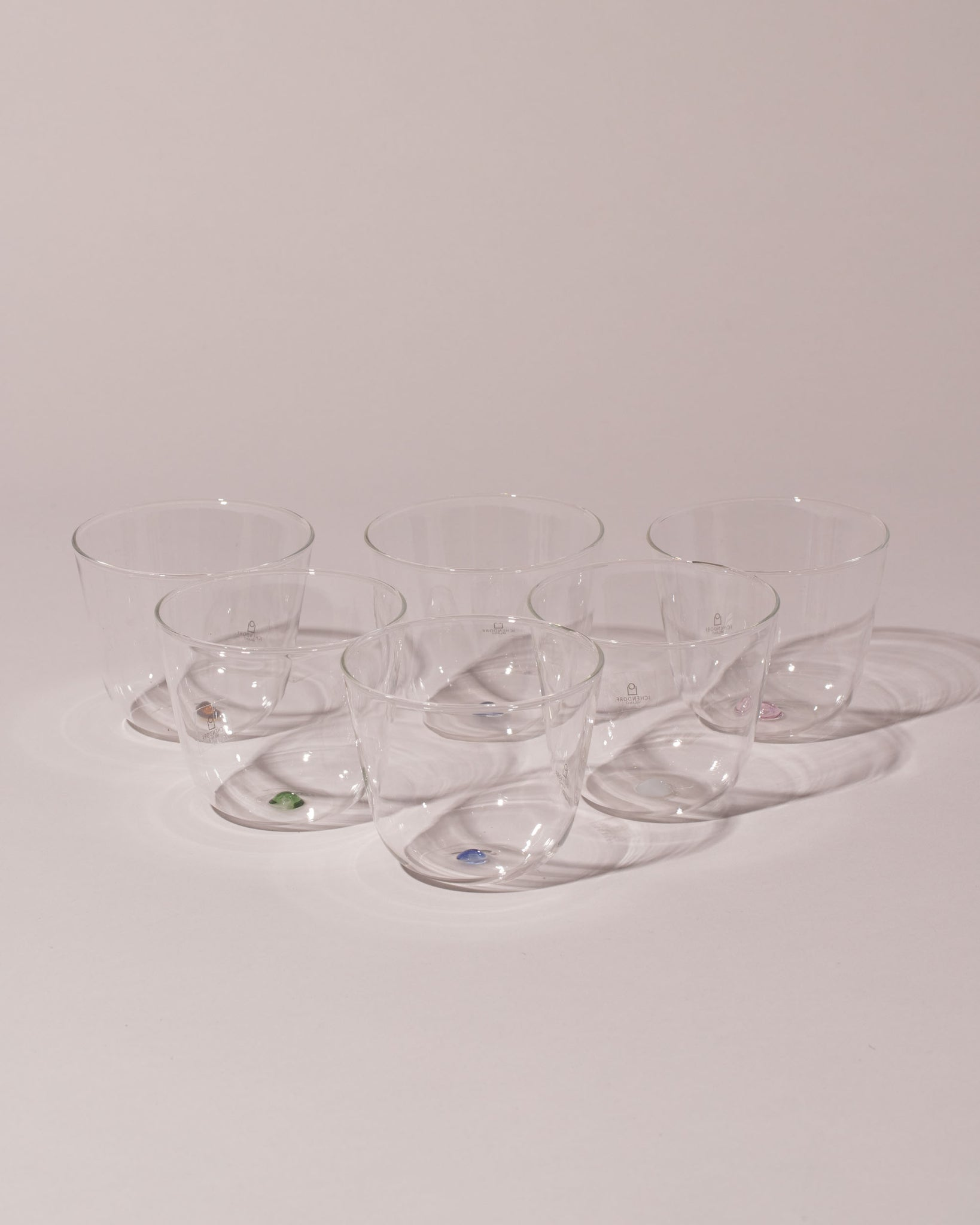 Ichendorf Milano Bambus Water Glass Set