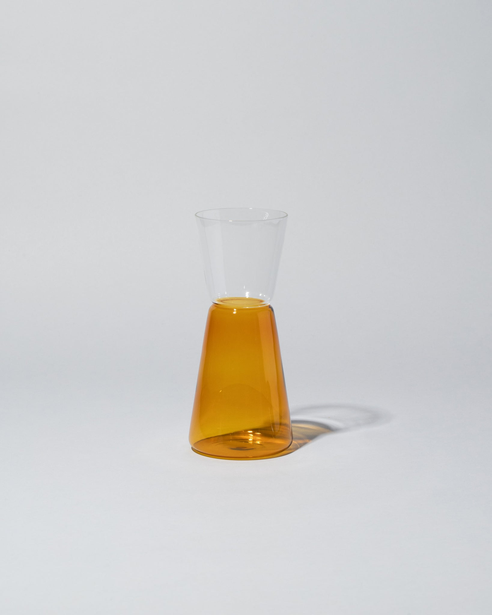 Ichendorf Milano High Rise Pitcher Small in Amber & Clear