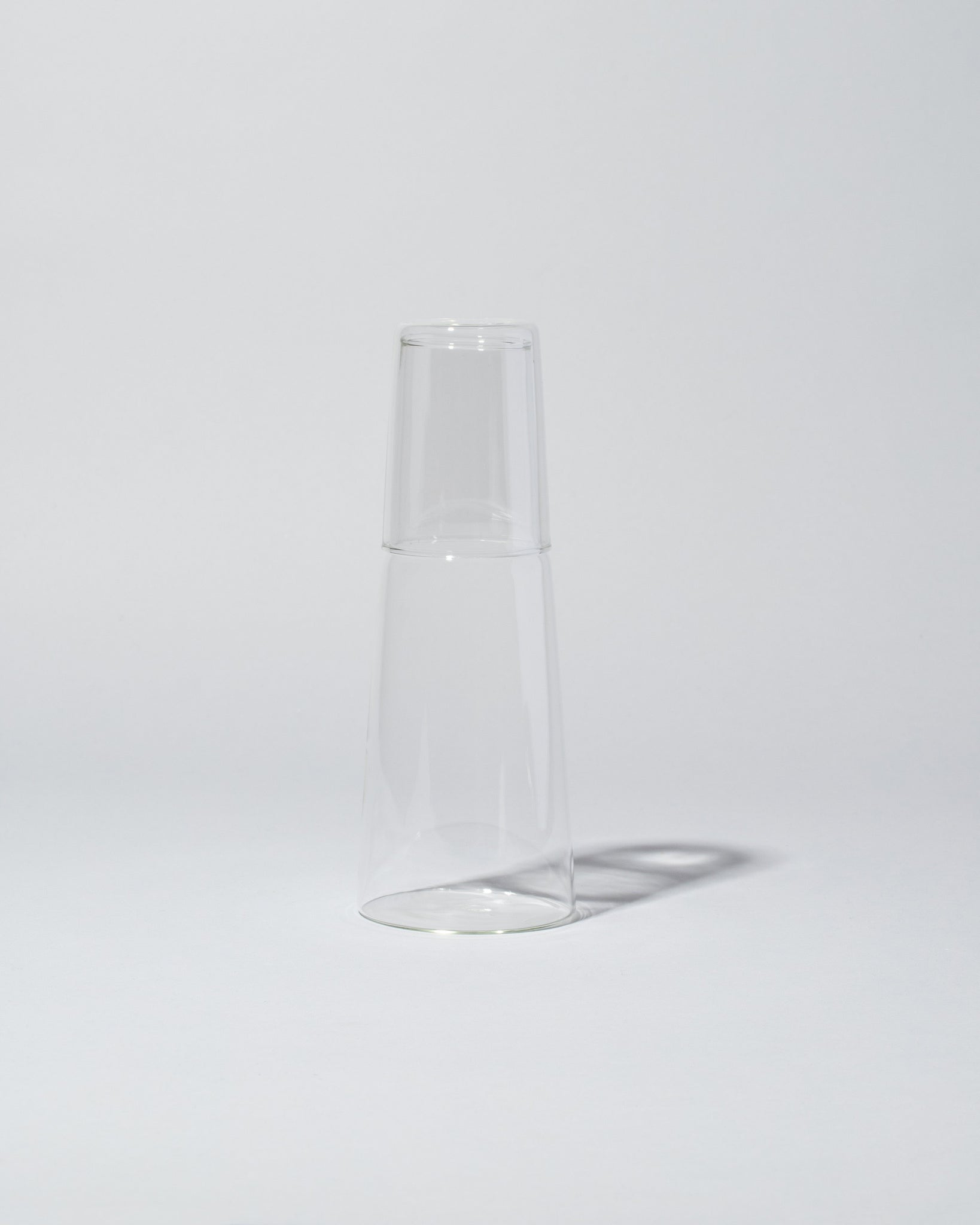 Ichendorf Milano Torre Night Bottle and Glass stacked