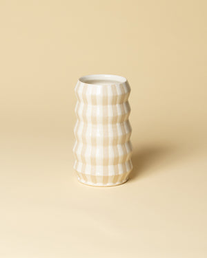 Accordion Vase Striped