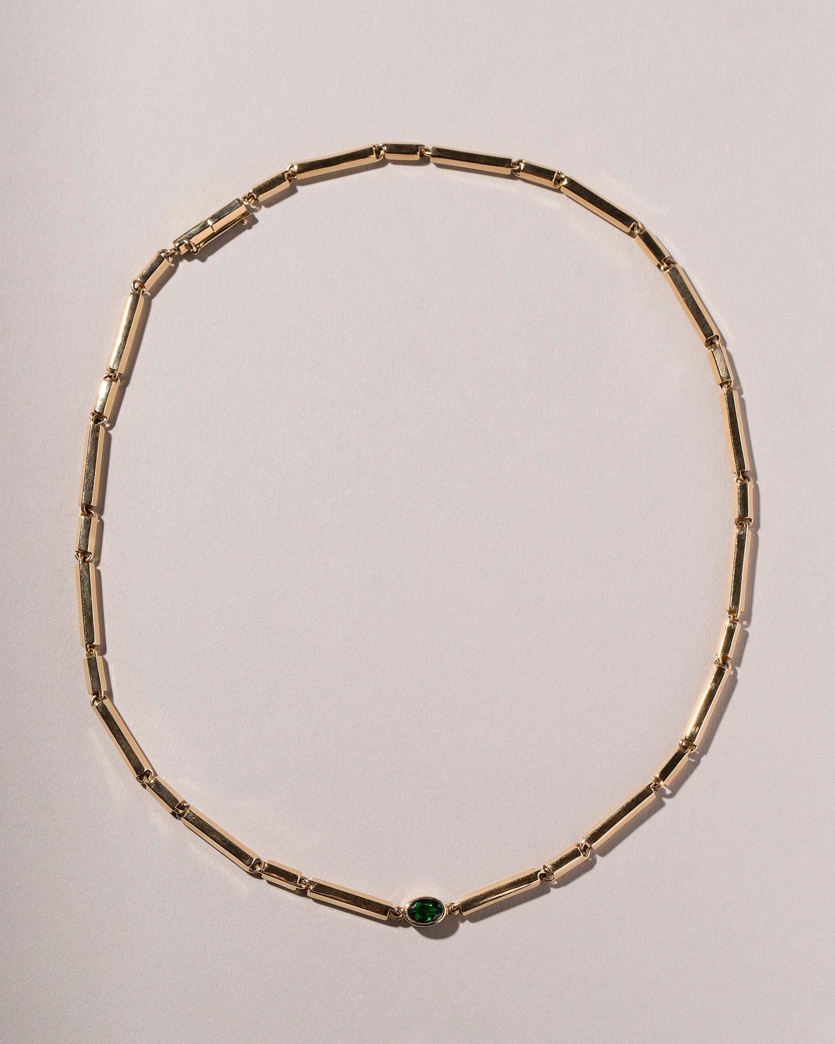 Kinetic Necklace Laid Flat