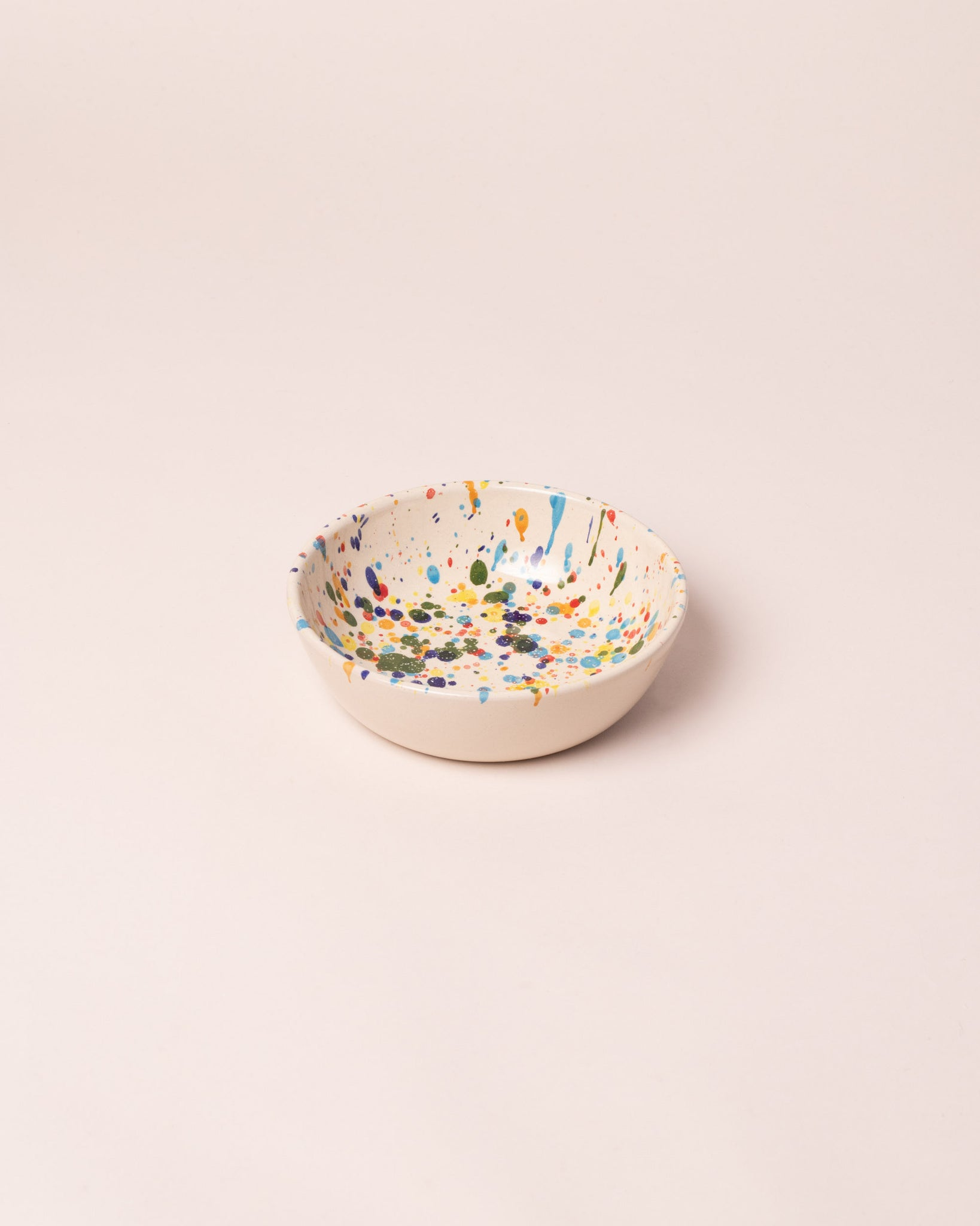 La Ceramica Cereal Bowl colored drops