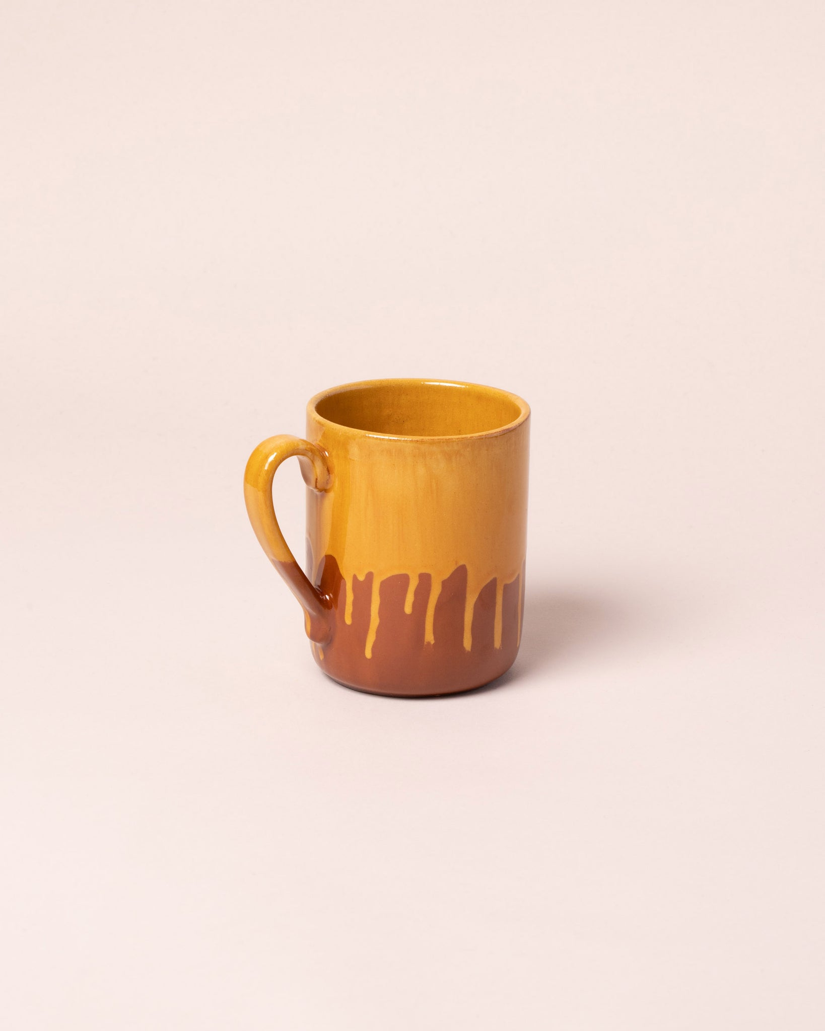 La Ceramica Coffee Mug Caramel Yellow