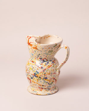 La Ceramica Jug Color Drops