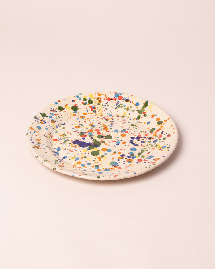 La Ceramica Large Dish Colored Drops