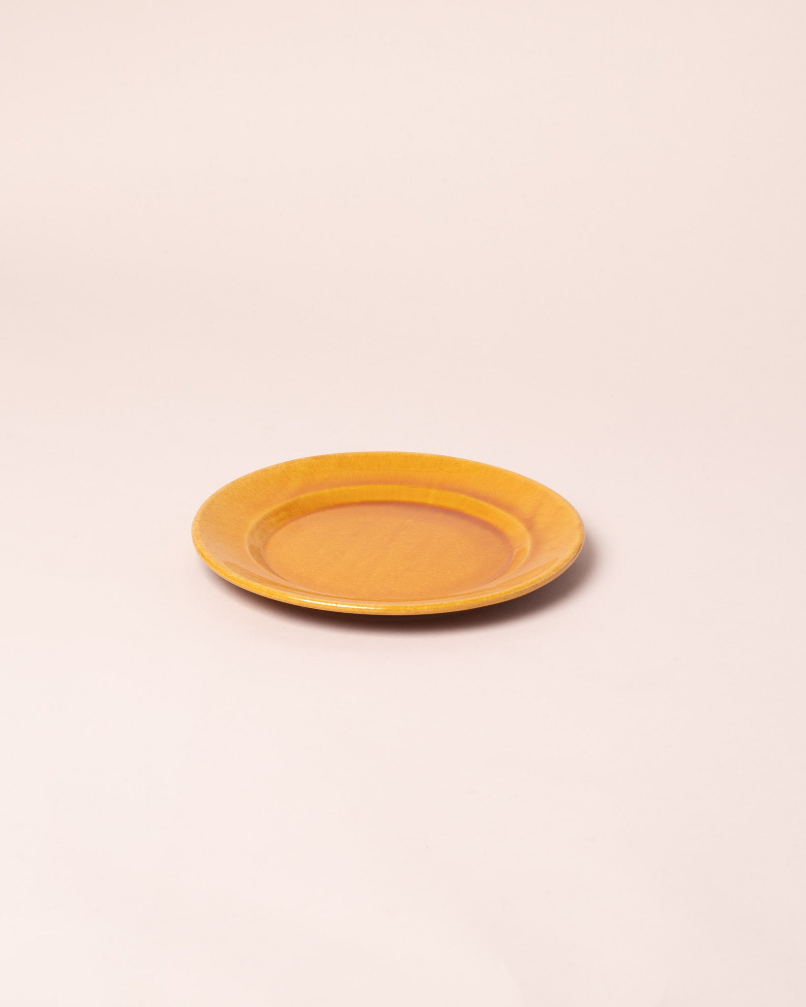 La Ceramica Small Dish caramel yellow