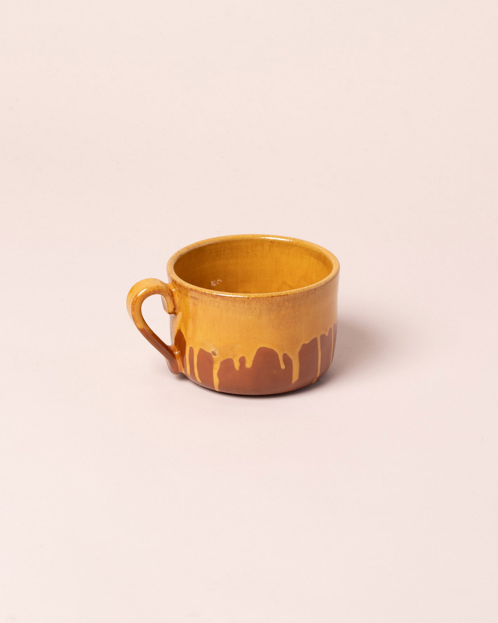 La Ceramica Tea Mug Caramel Yellow