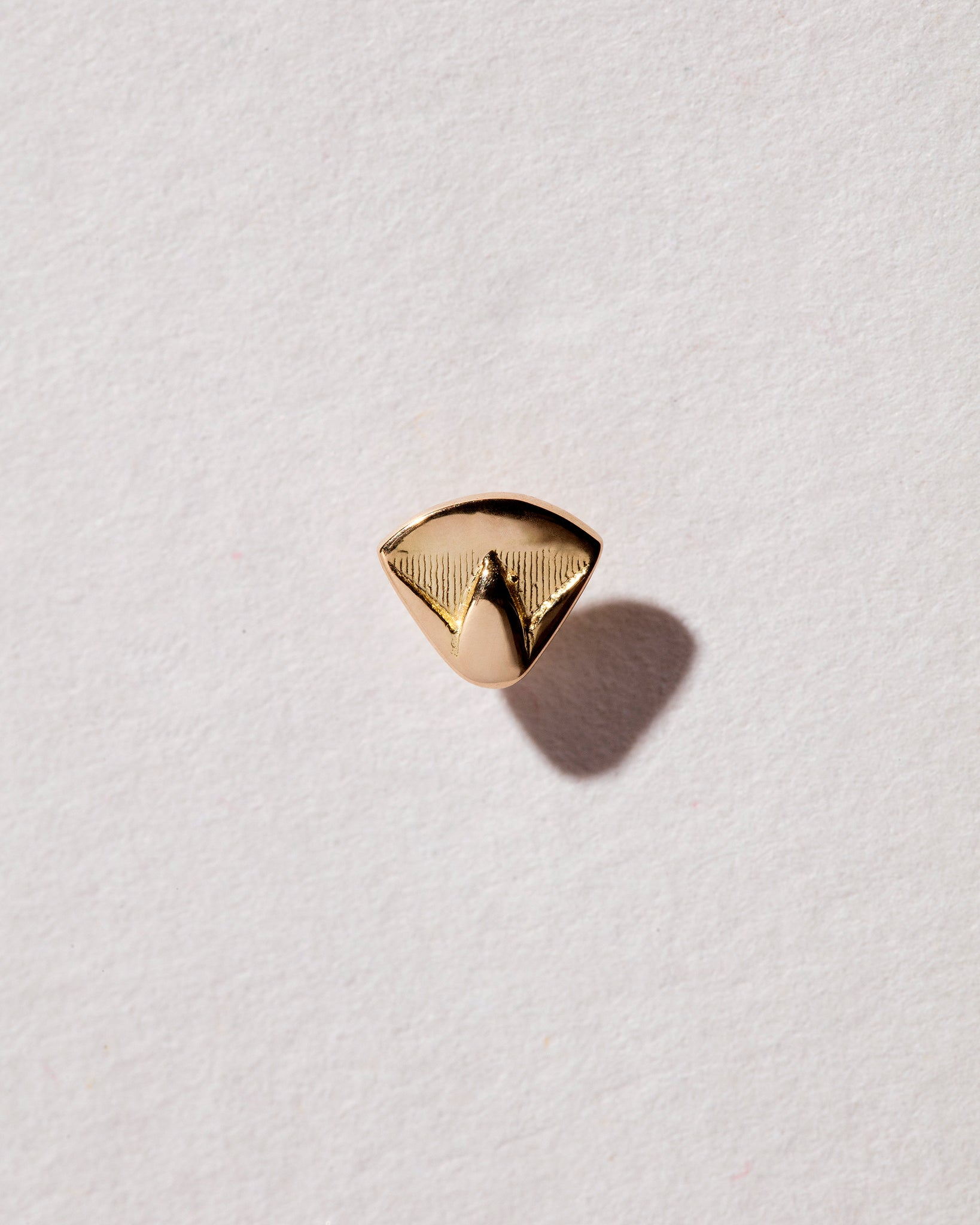 Lotus Blossom Stud front view