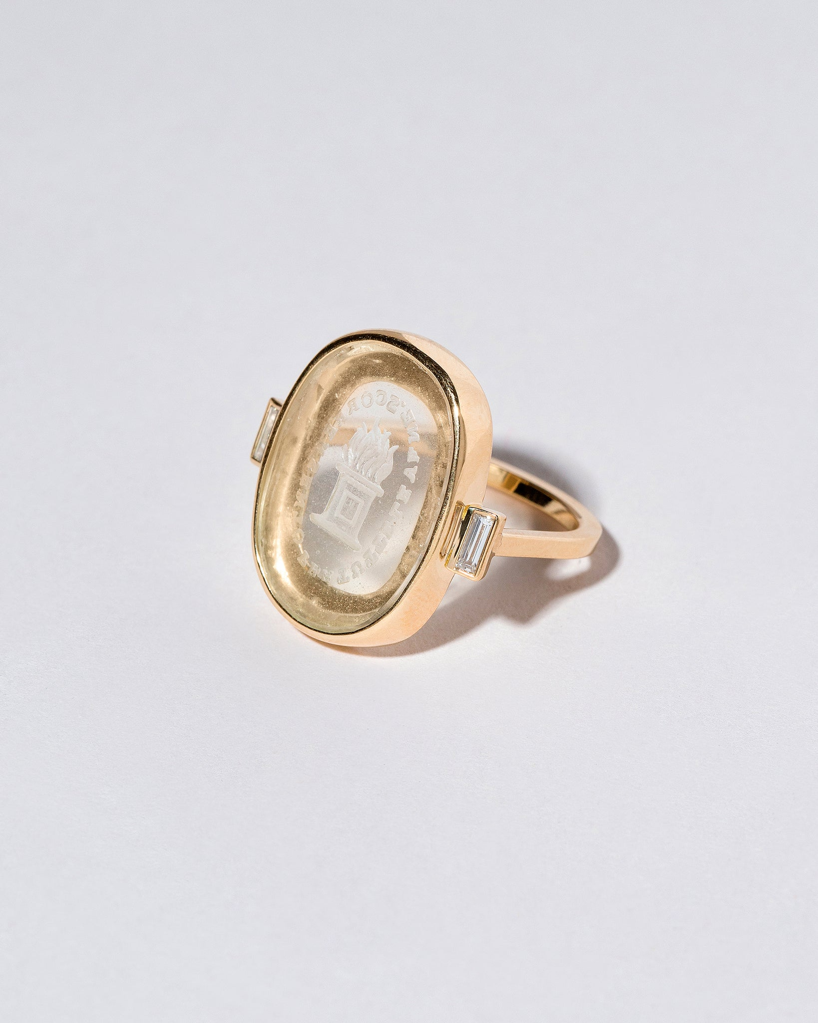 Passion Intaglio Seal Ring