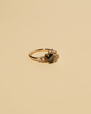 Black Diamond Luna Ring left view