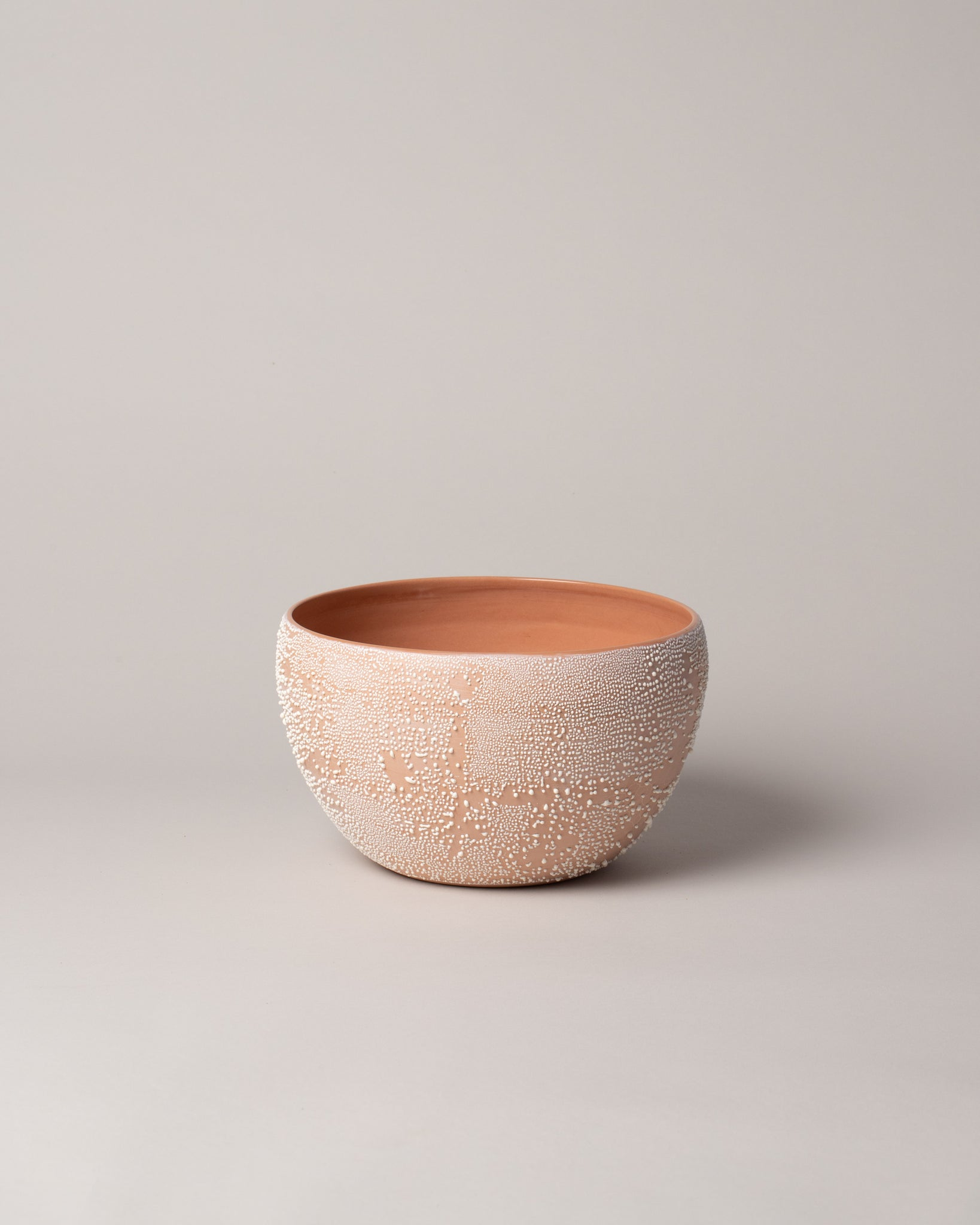 Dew Serving Bowl in Terracotta