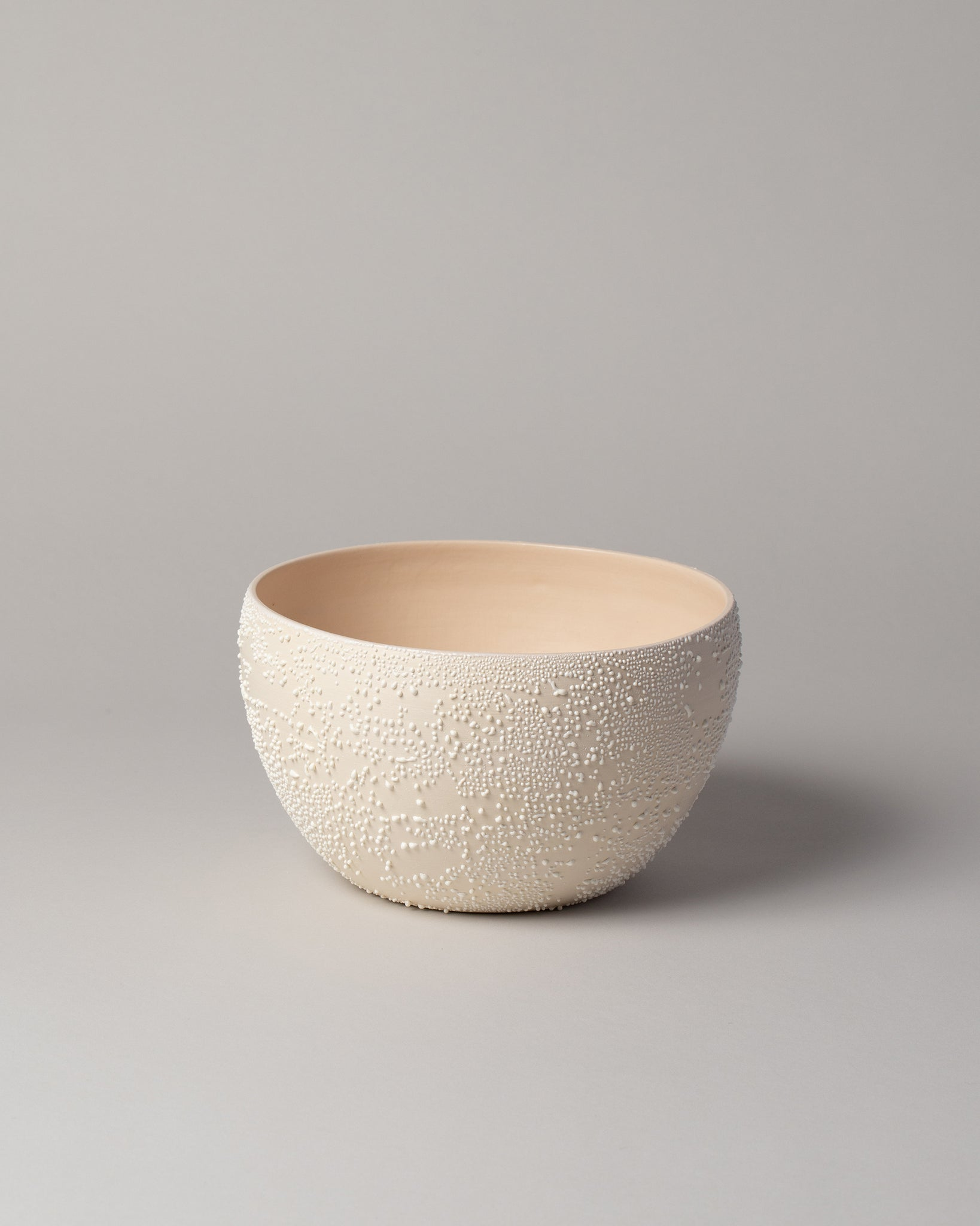 Dew Serving Bowl in White