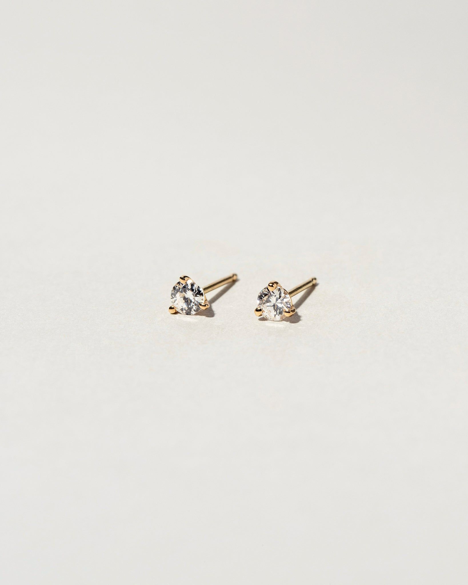 White Diamond Martini Studs 0.30 ct.