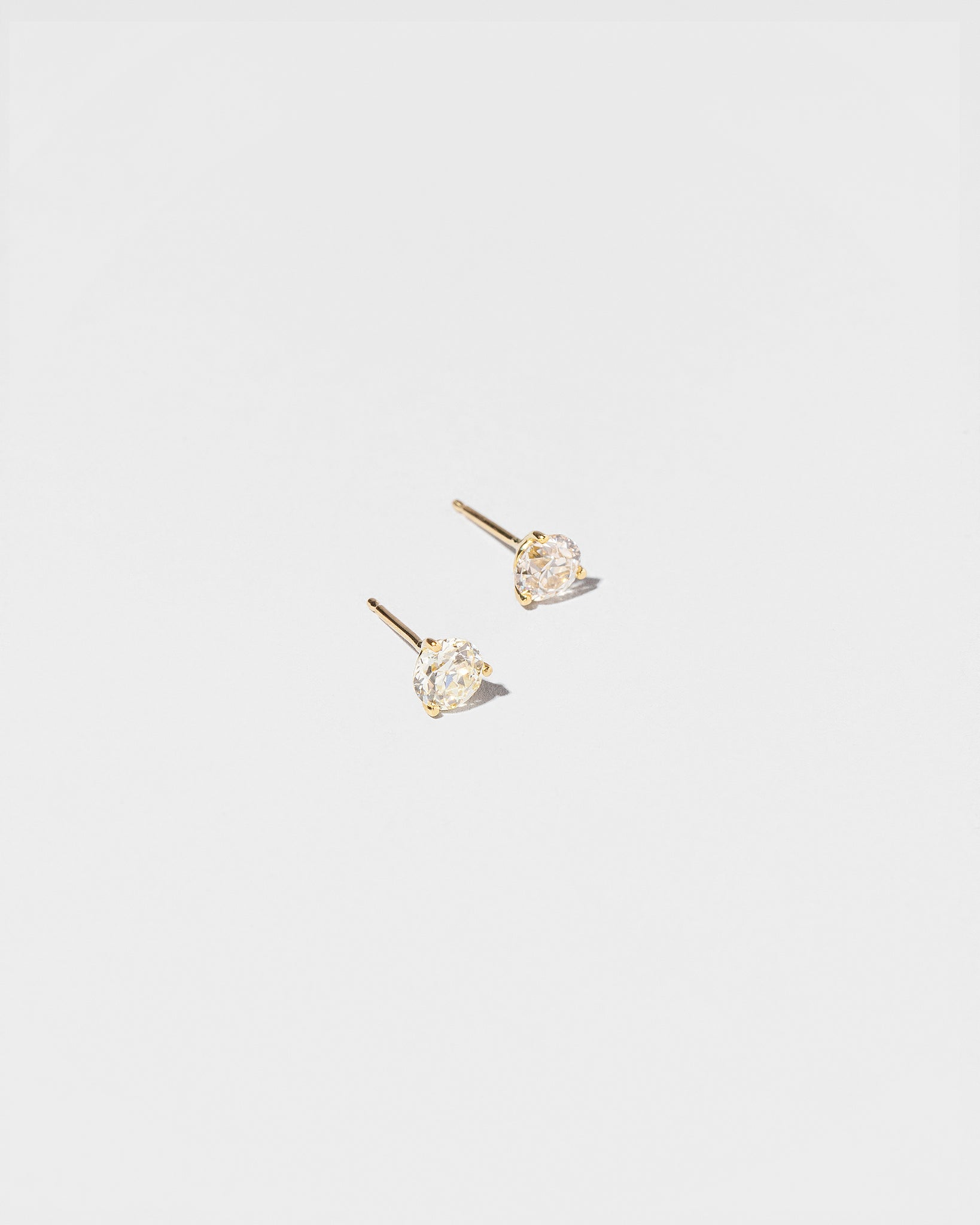 White Diamond Martini Studs 1.03 ct.