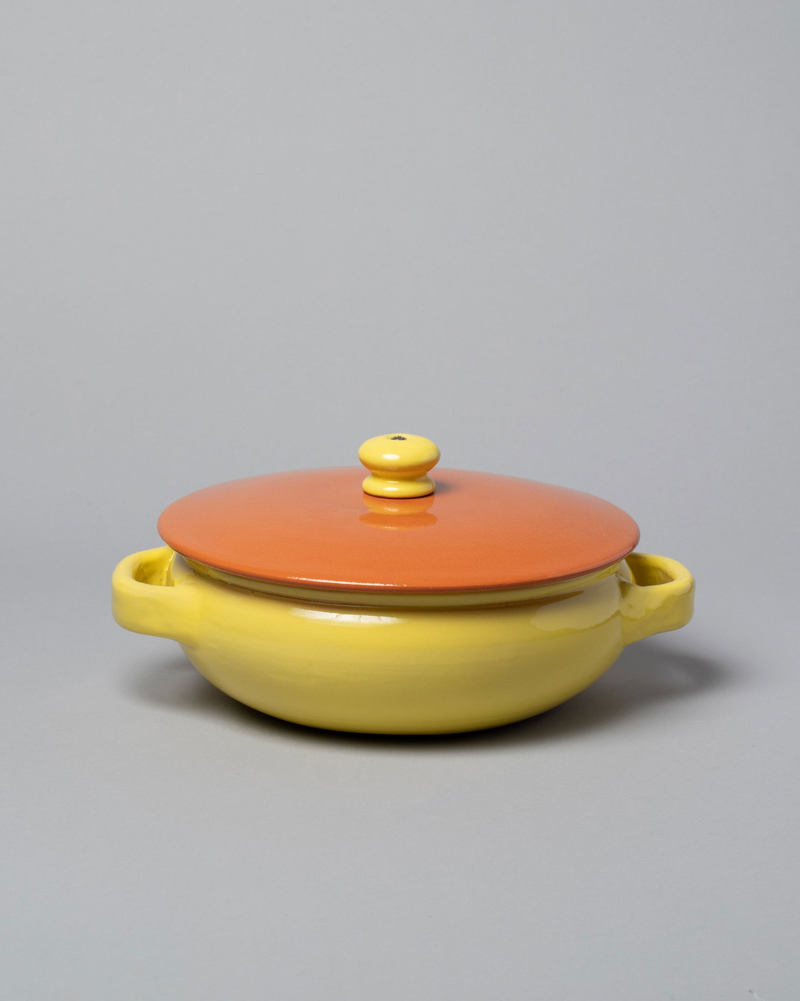 Mazzotti 1903 Clay Pot Small / Yellow and Orange