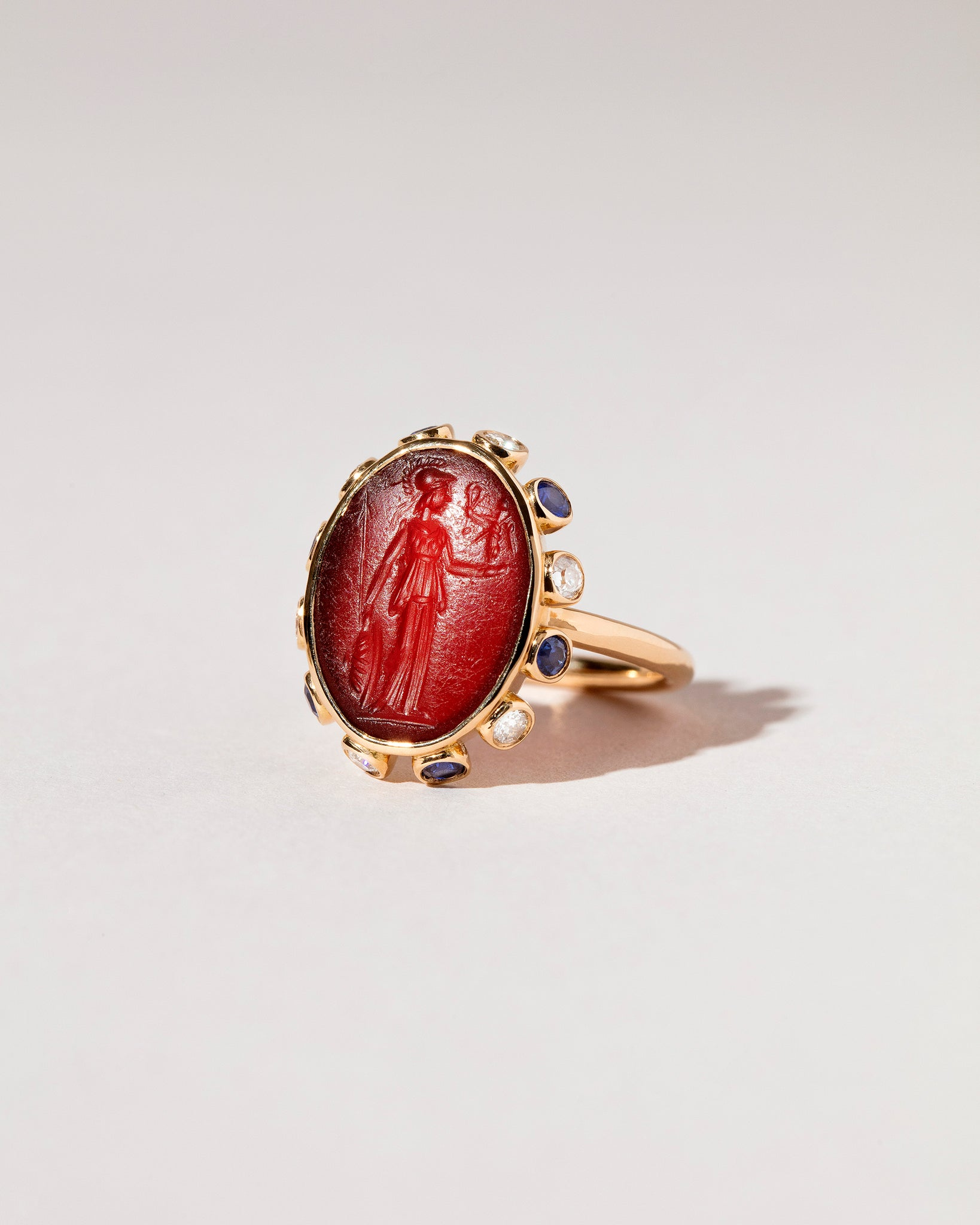Minerva Ring side view