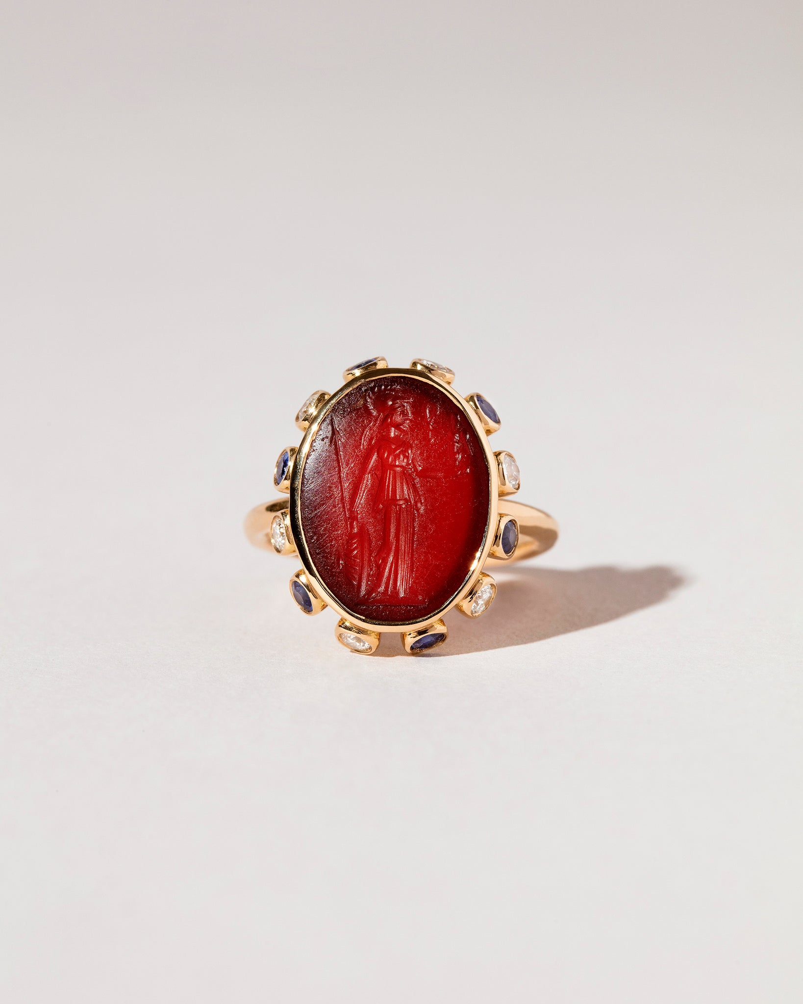 Minerva Ring front view