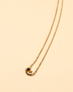 Moon Ray Necklace Black Diamond