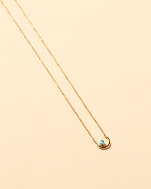 Moon Ray Necklace Turquoise