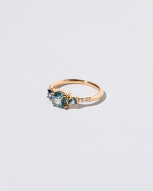 Blue Sapphire Orion Ring right facing