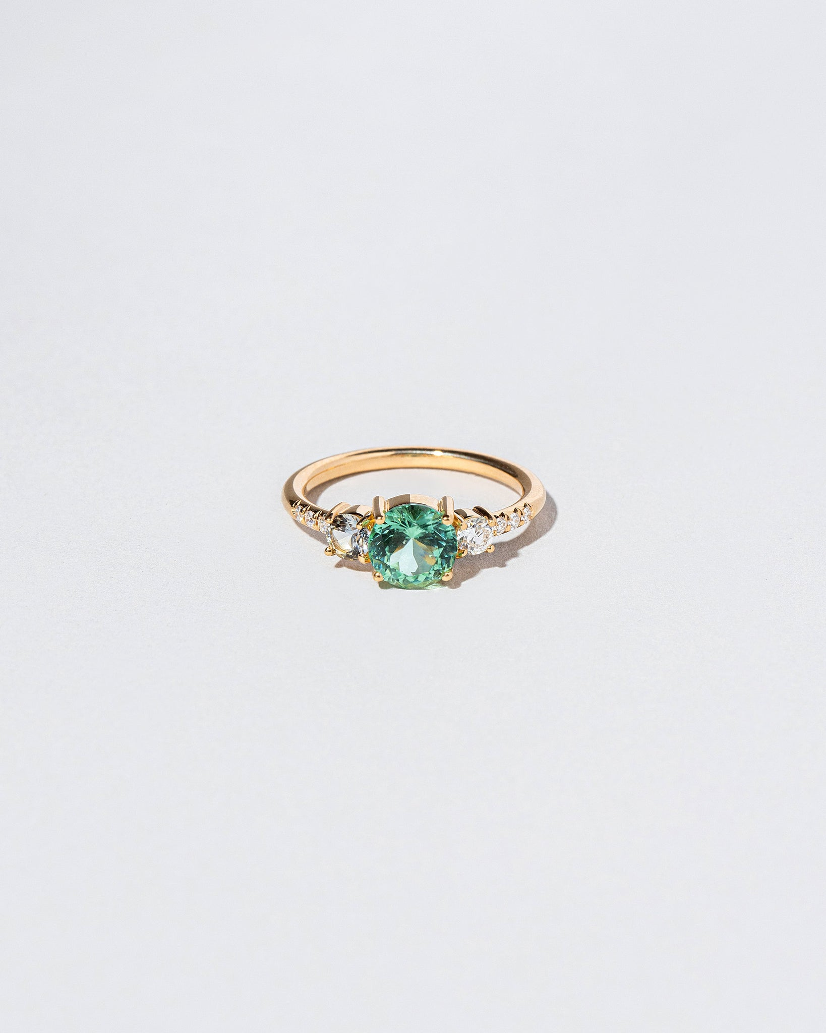 Tourmaline Orion Ring front facing