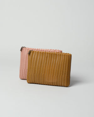 Small clutches in Rose and Tobacco