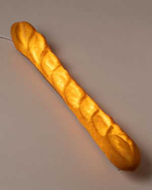 Baguette Lamp top view illuminated