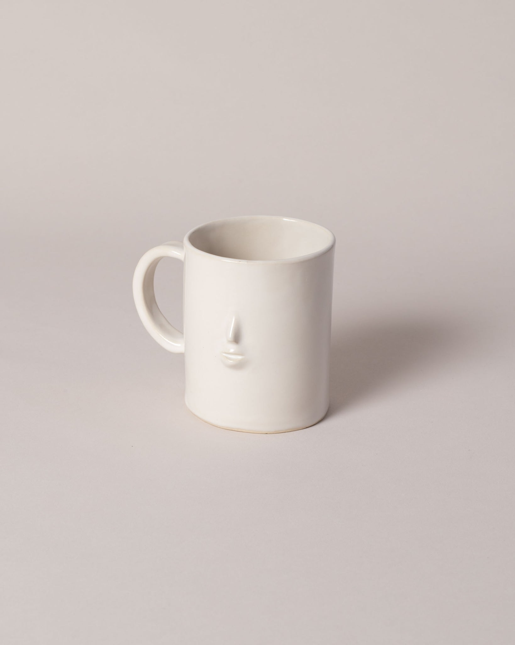 Rami Kim Face Mug in satin white