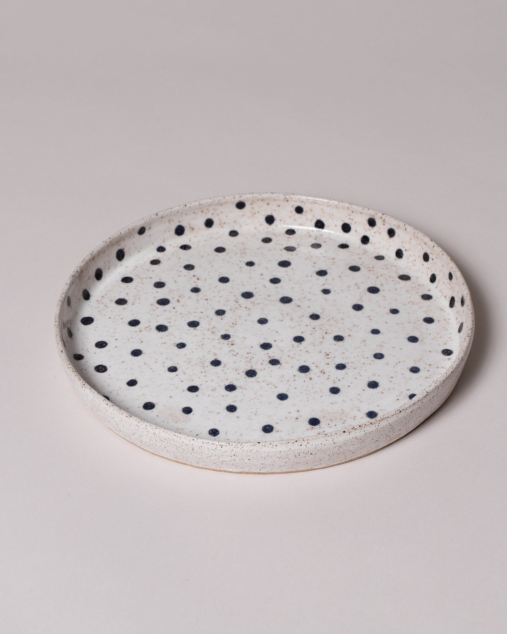Dot Dinner Plate Side View