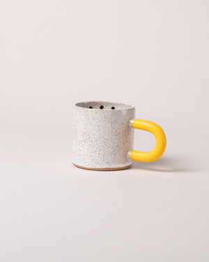 Dot Mug in Yellow