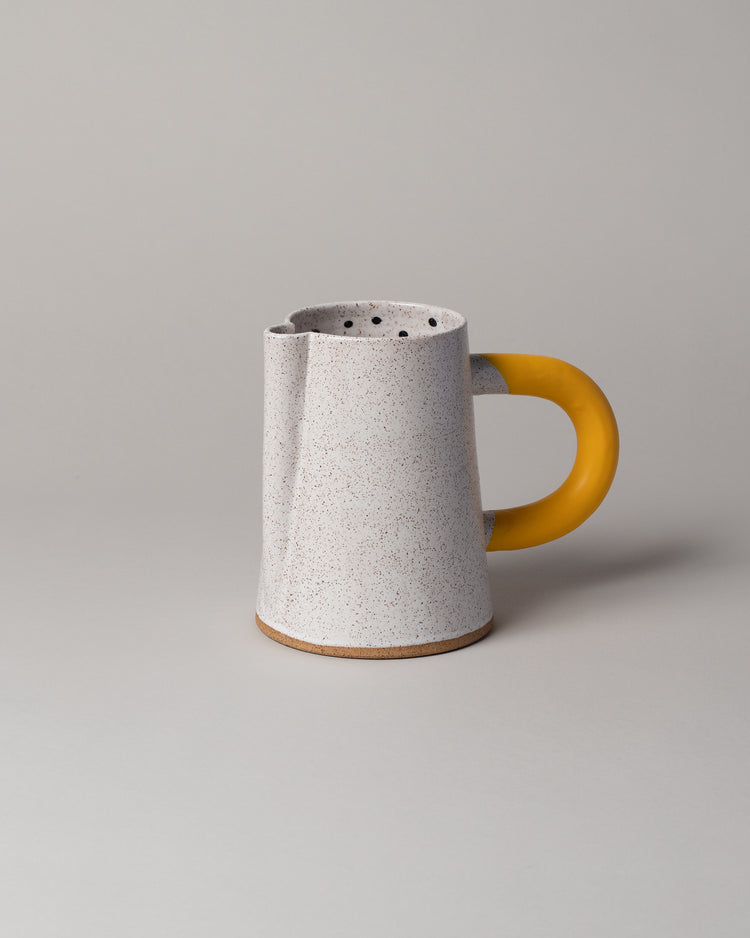 Dot Pitcher in Yellow