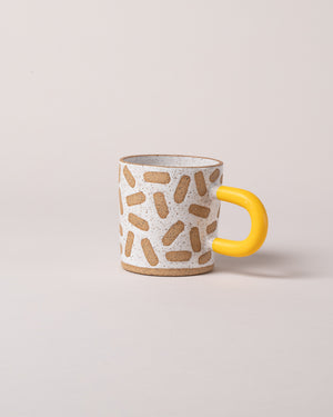 Mark Mug in Yellow