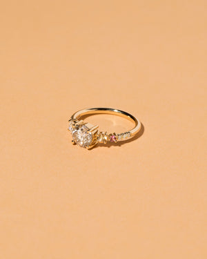 Rhea Stone Cluster Ring Right Side