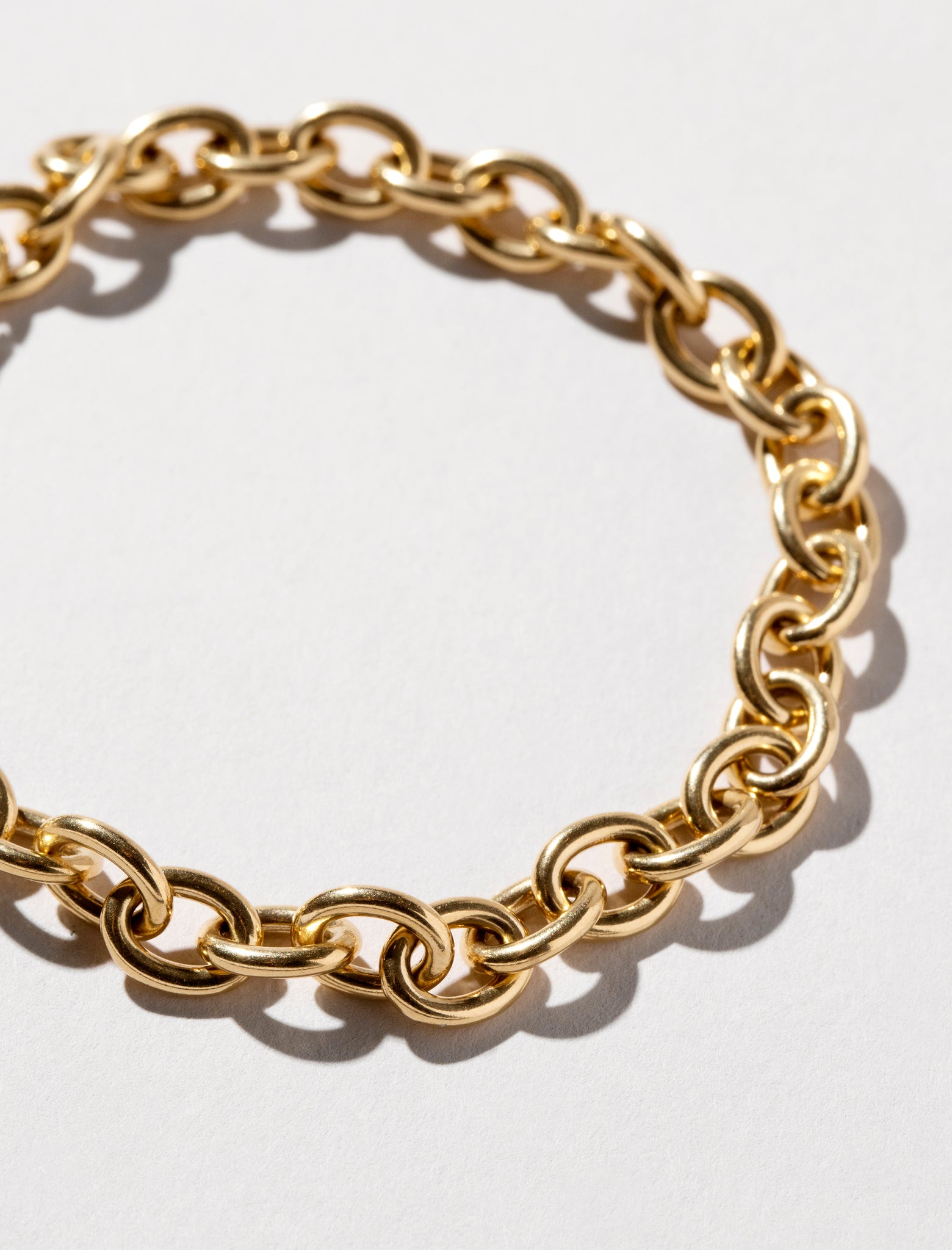 Detail photo of Round Box Chain Bracelet