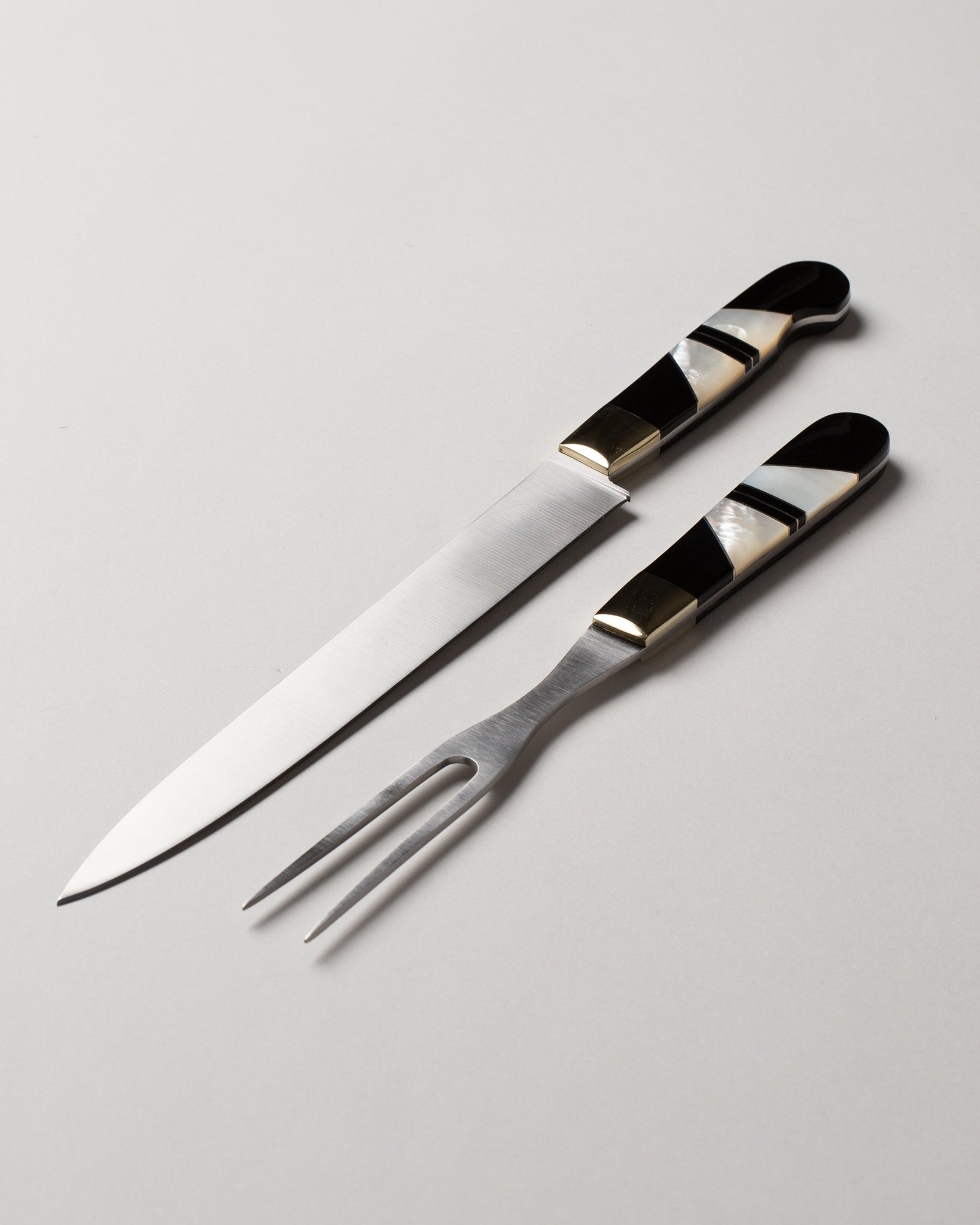 Carving Set Mother of Pearl