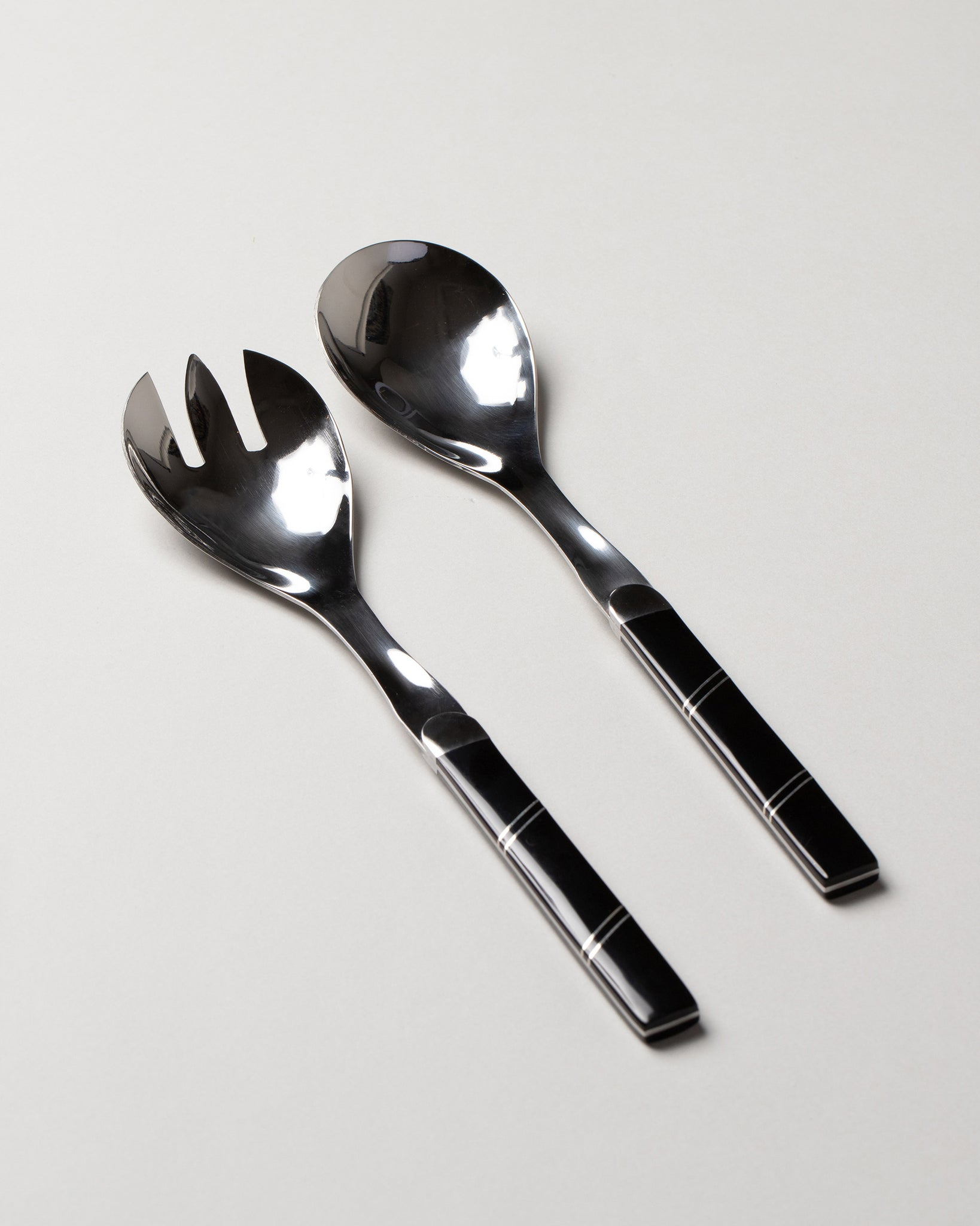 Salad Serving Set Onyx