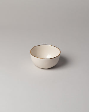 Edge Serving Bowl Ivory
