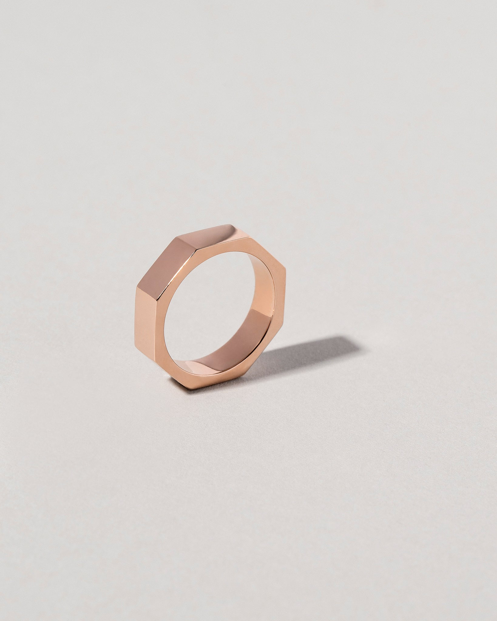 Segmented Band in Rose Gold