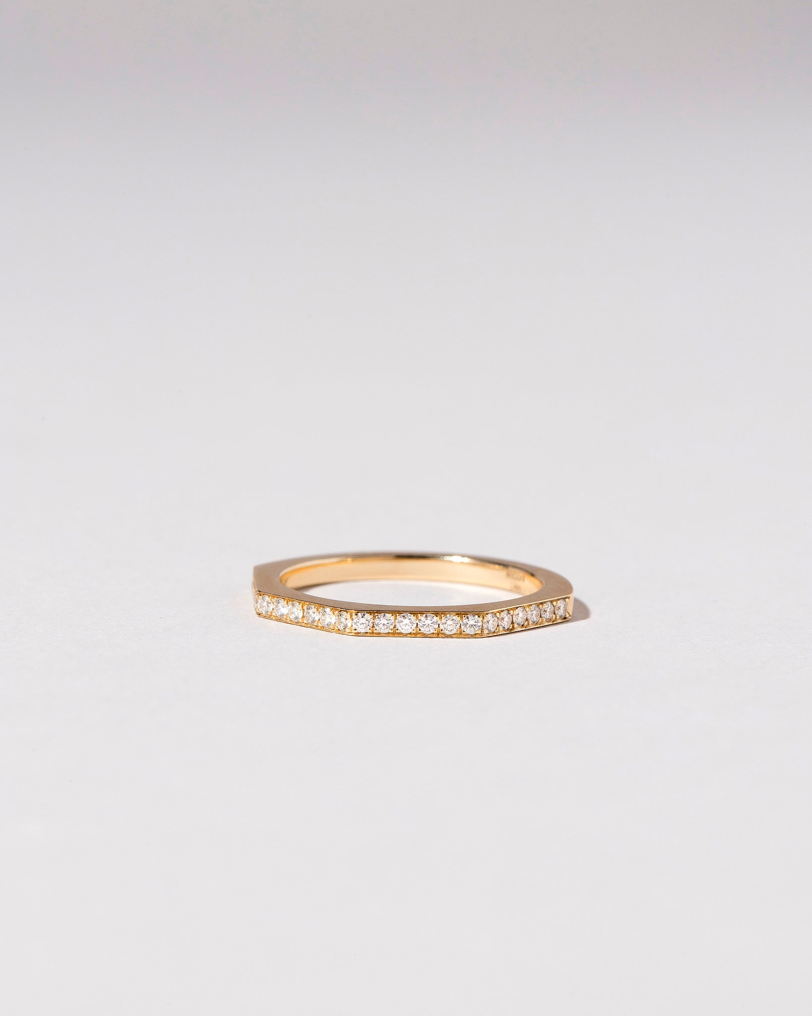 Segmented Eternity Pavé Band