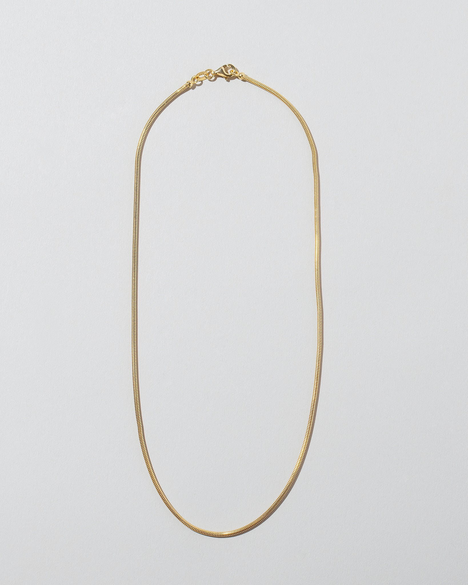 Serpent Chain Necklace 0.9mm