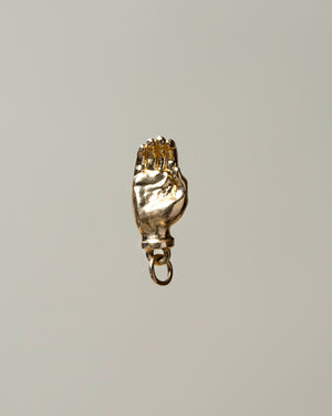Sign Language Letter C Charm