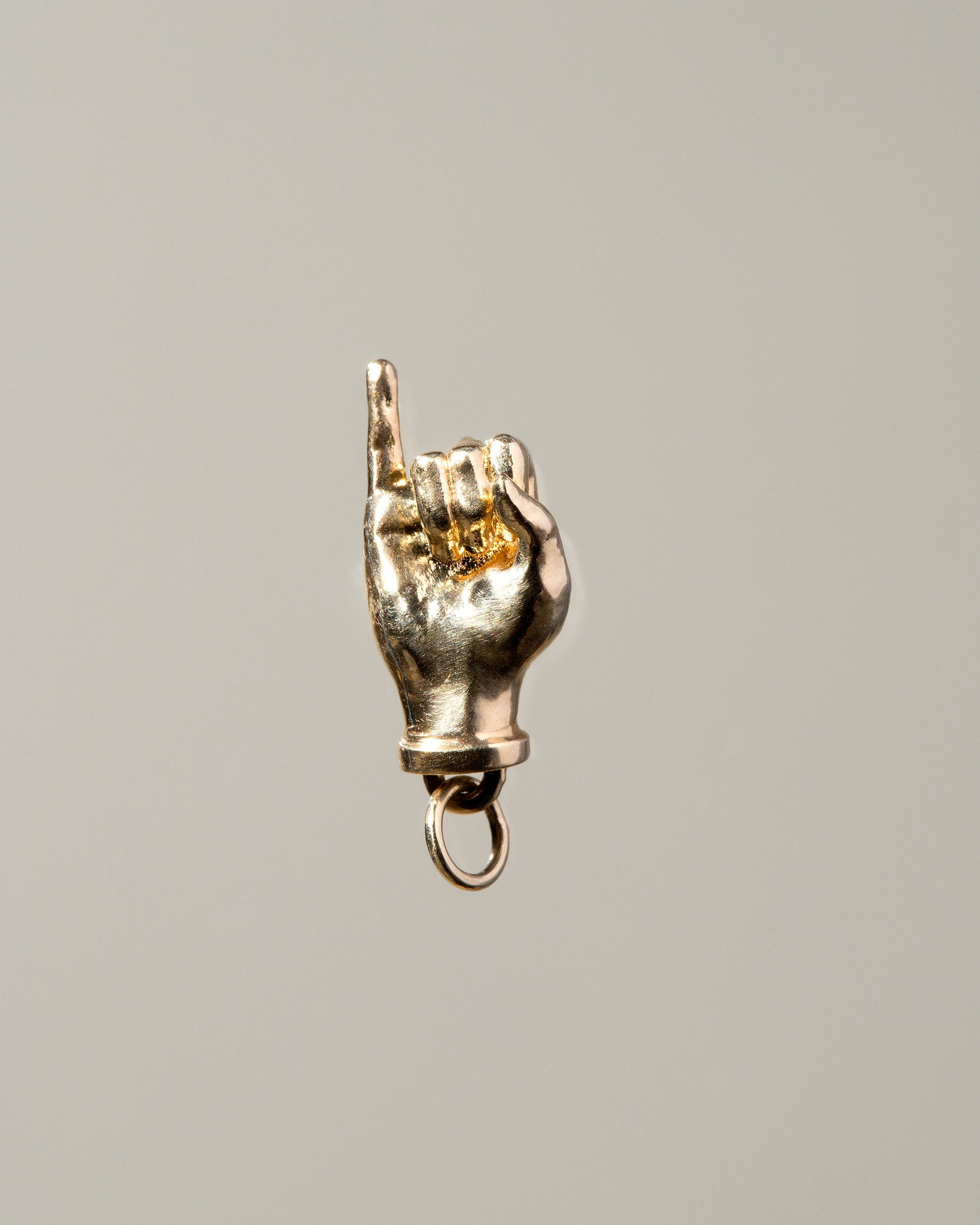 Sign Language Letter J Charm