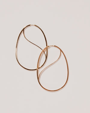 Snake Egg Hoops flat view