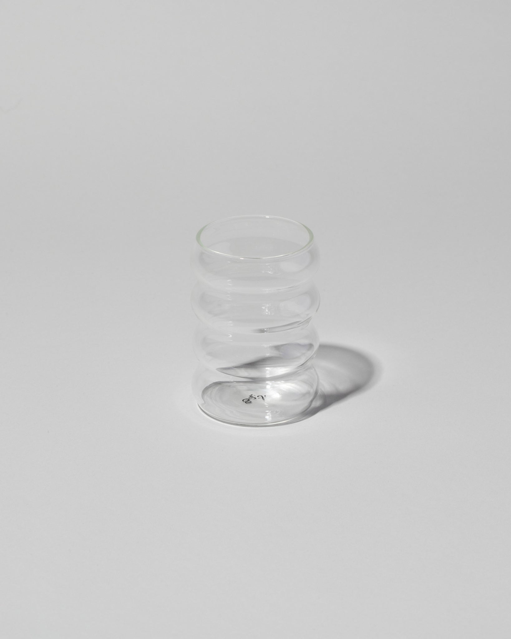 Ripple Cup in clear