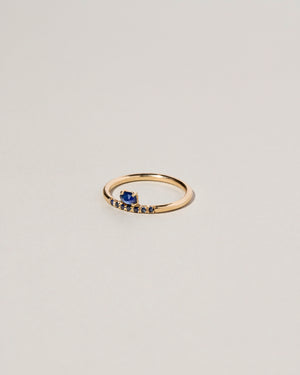 Stacked Sapphire Ring Right Side